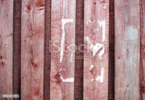 istock scraps of paper on a wooden wall 586082380