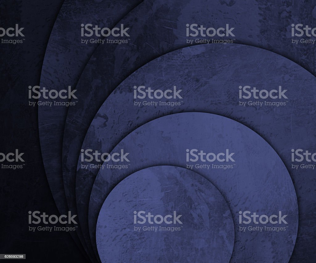 scratched and old round plates background vector art illustration