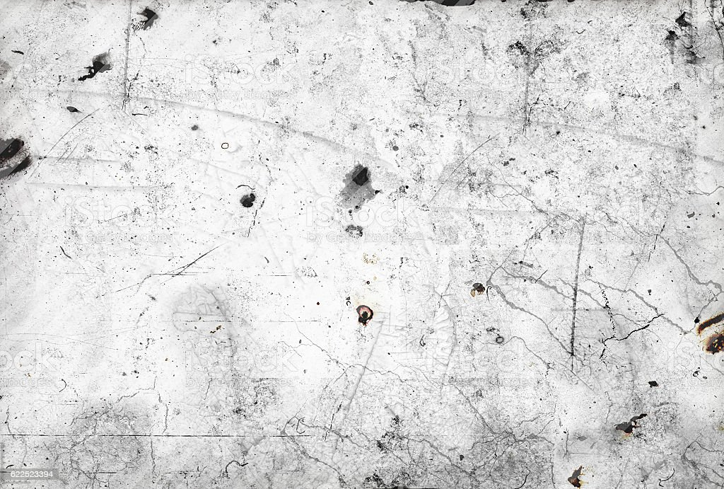 Scratched and stained surface - layer for photo editor stock photo