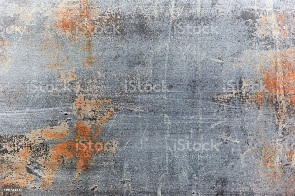 Scratched Blue Metal Texture - Royalty-free Abstract Stock Photo