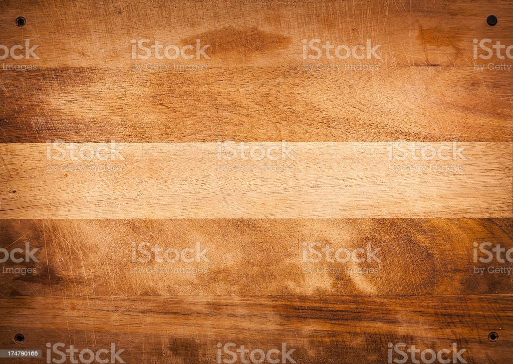 Scratched Breadboard or Cutting Board Background Texture royalty-free stock photo