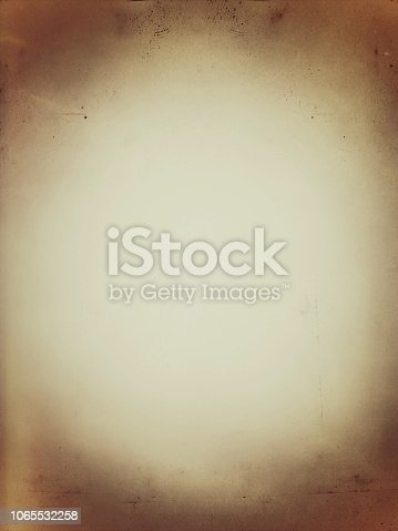 istock Scratched brown texture. Old paper, papyrus, 1065532258