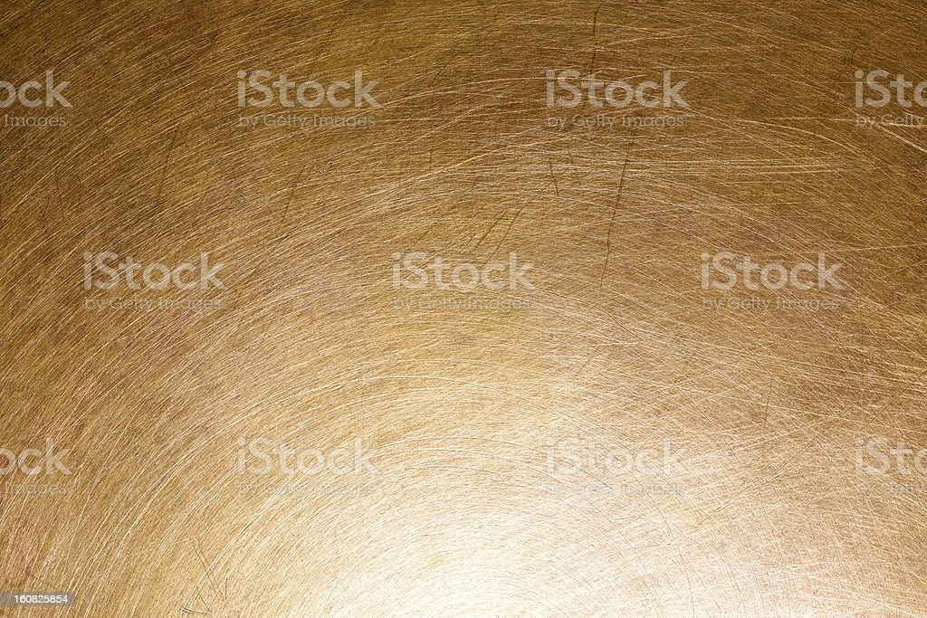 Scratched copper background stock photo