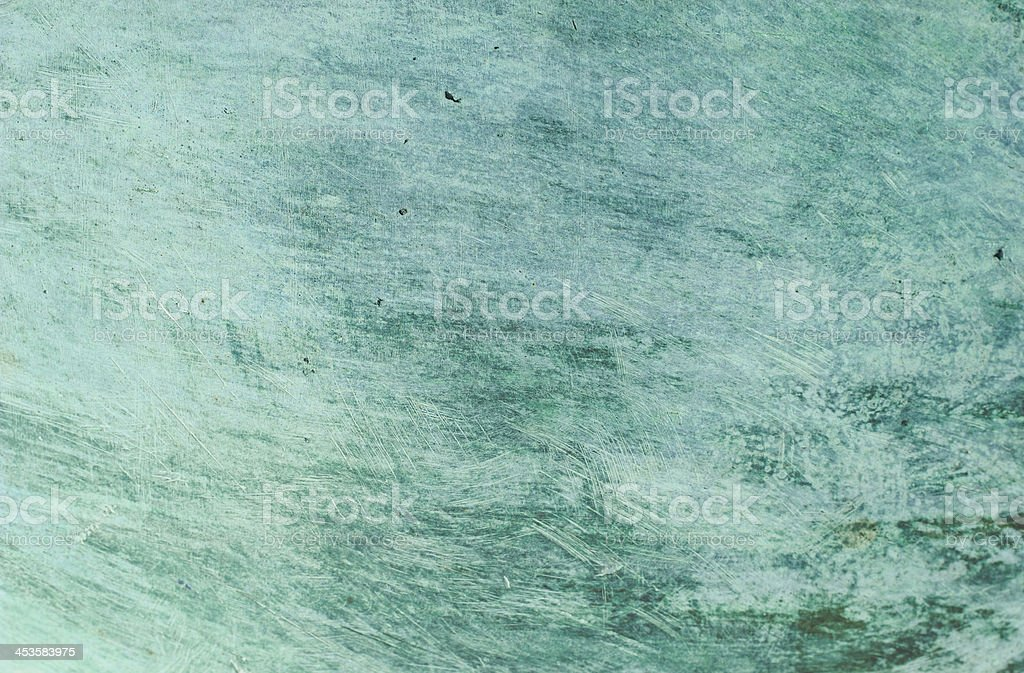 Scratched Copper Surface royalty-free stock photo