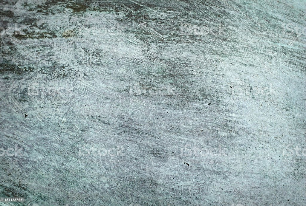 Scratched Copper XXL royalty-free stock photo