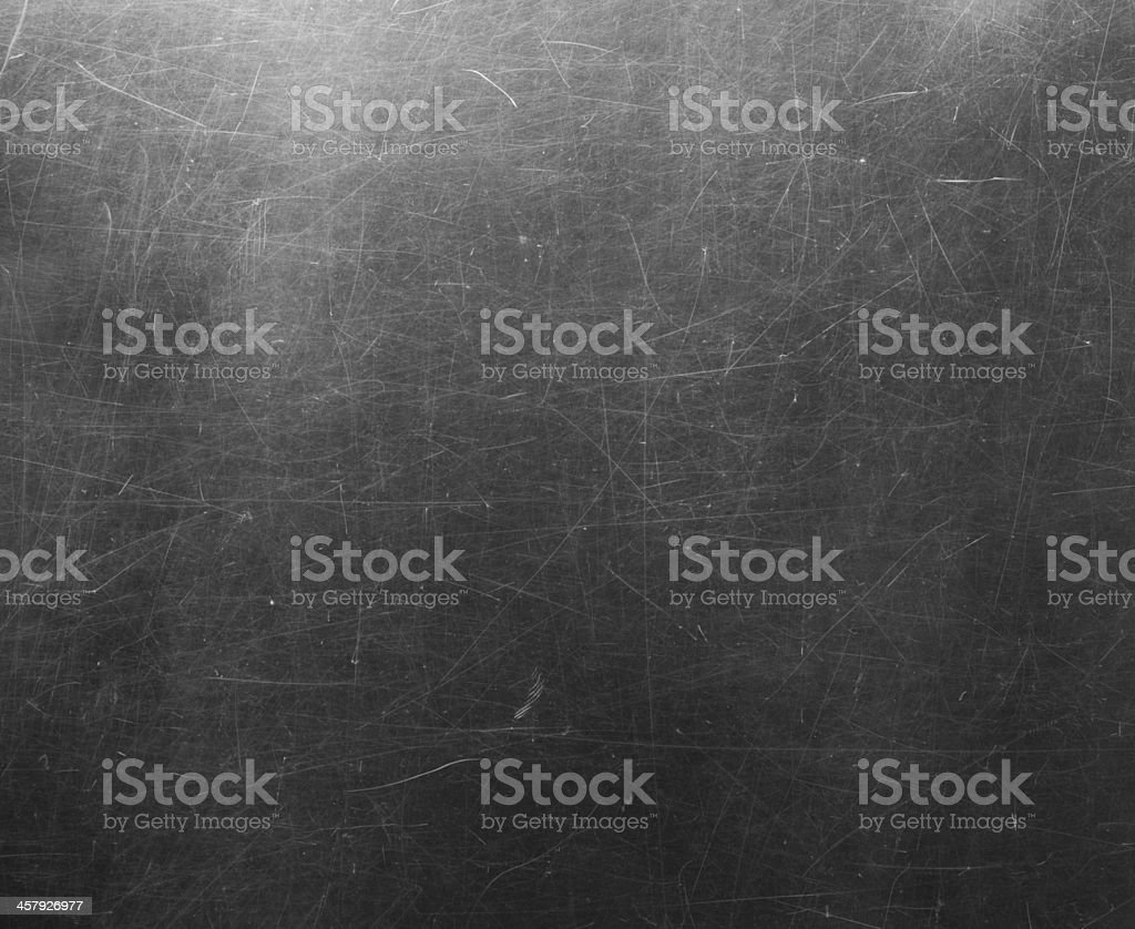 Scratched glass surface. royalty-free stock photo