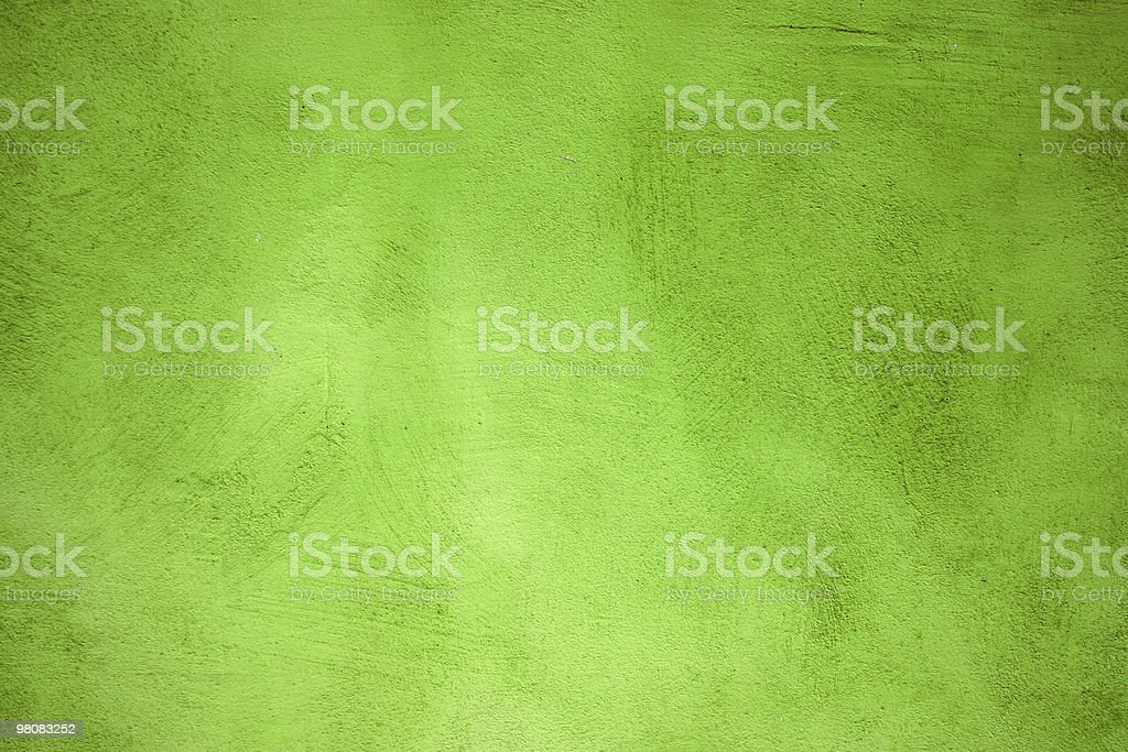 Scratched Green Wall Background Texture Pattern royalty-free stock photo