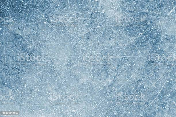 Photo of Scratched Ice background