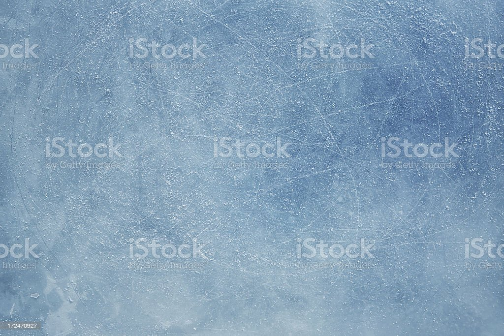 Scratched Ice background royalty-free stock photo