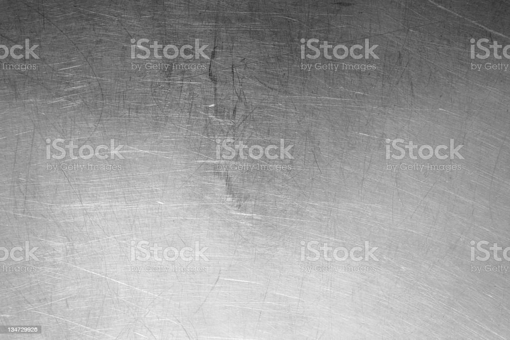 scratched metal royalty-free stock photo