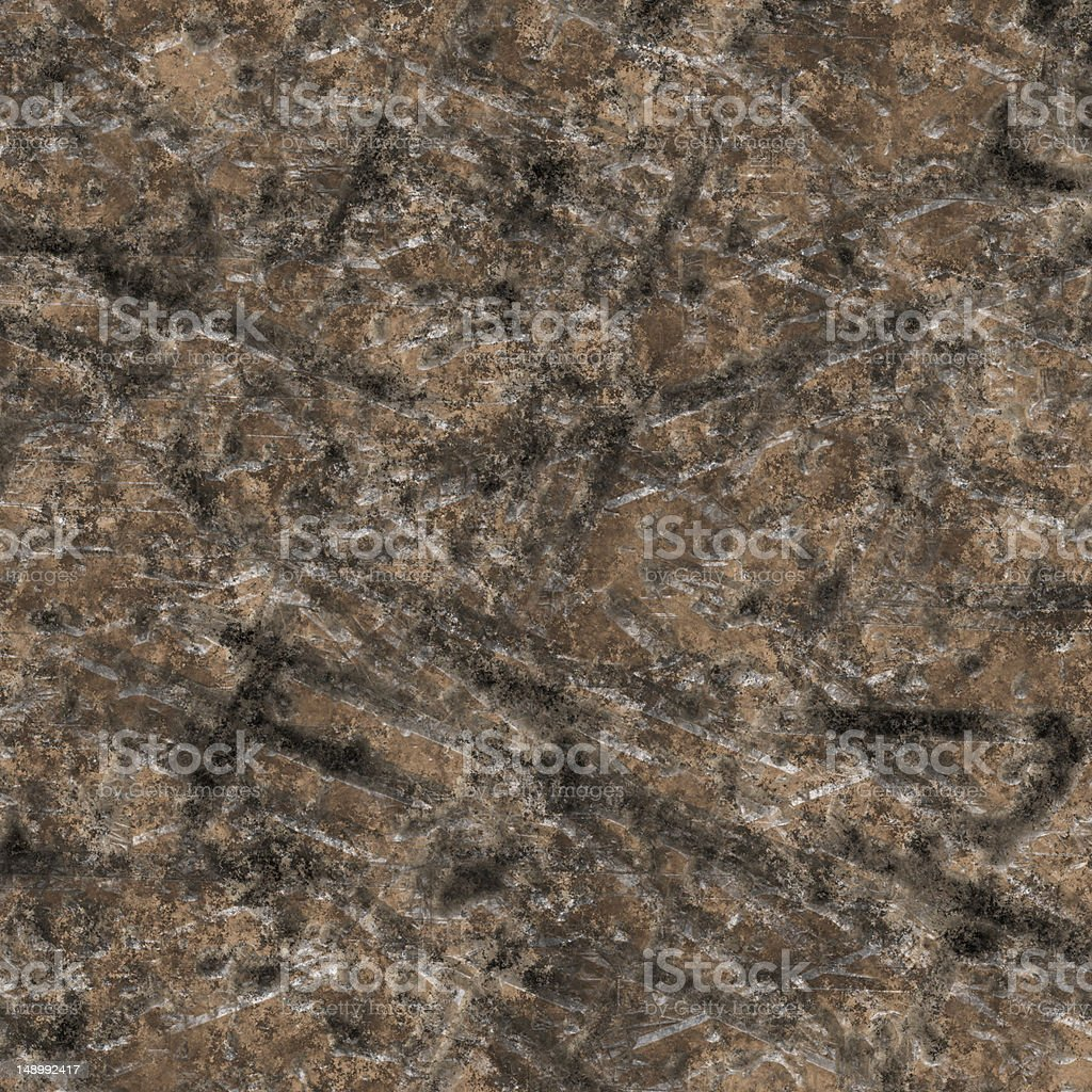 Scratched Metal Plate (High Resolution Image) stock photo