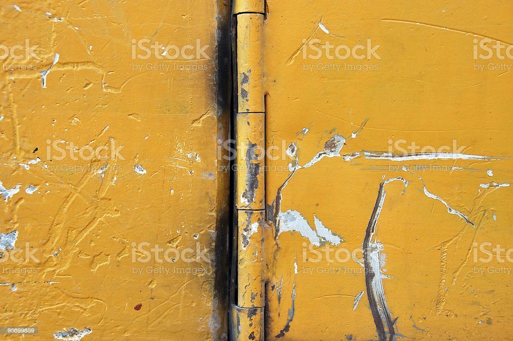 scratched metal surface royalty-free stock photo