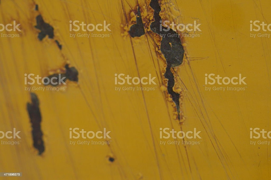 Scratched Paint royalty-free stock photo