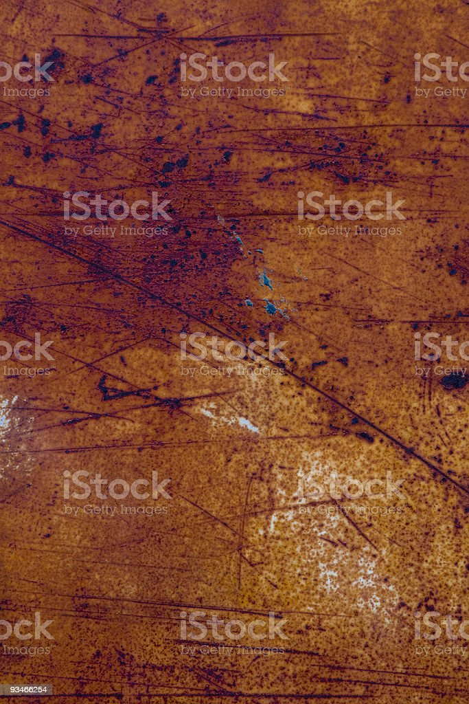 Scratched rusty metal texture royalty-free stock photo