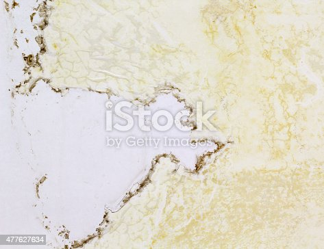 istock Scratched White Plastic Texture 477627634