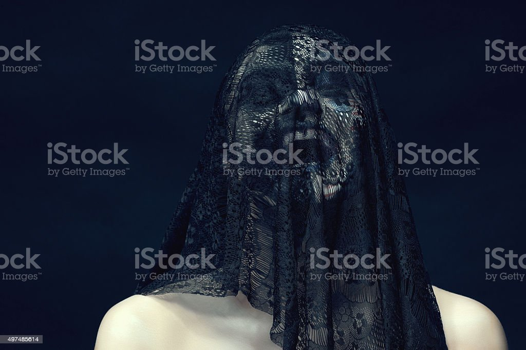 scream for my feelings stock photo