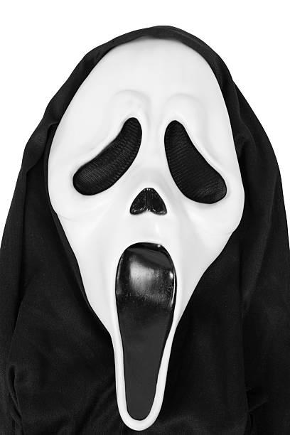Scream Mask stock photo