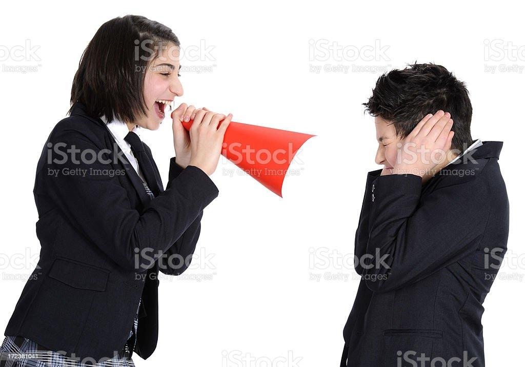 scream news royalty-free stock photo