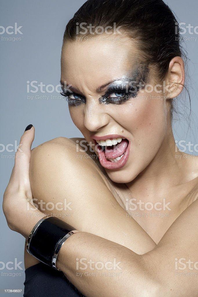 Scream royalty-free stock photo