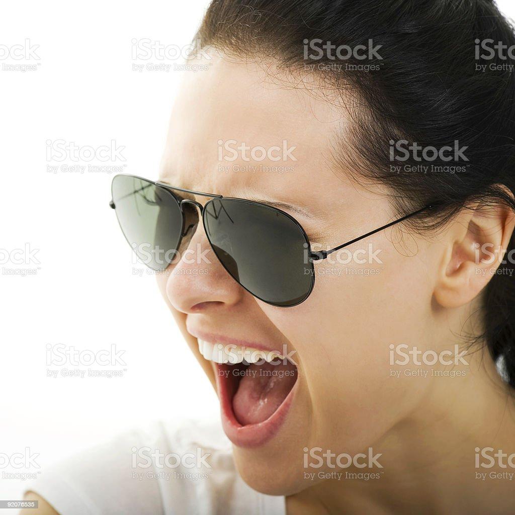 Scream! royalty-free stock photo
