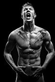 istock Screaming man 471355229
