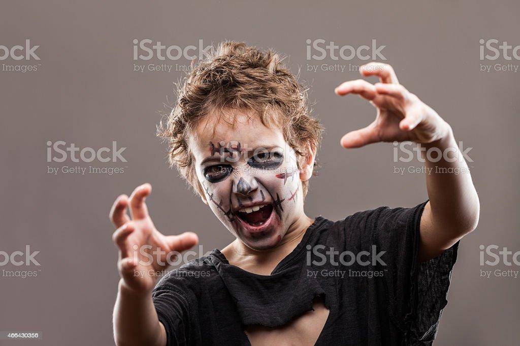 Schreien walking dead zombie Kind Jungen – Foto