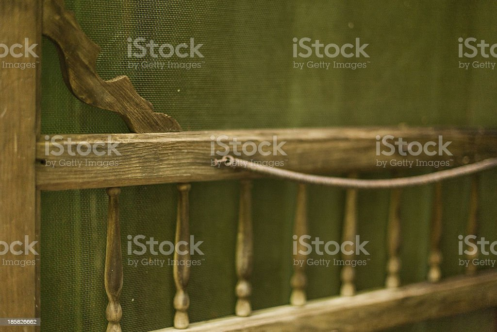 Screen Door stock photo