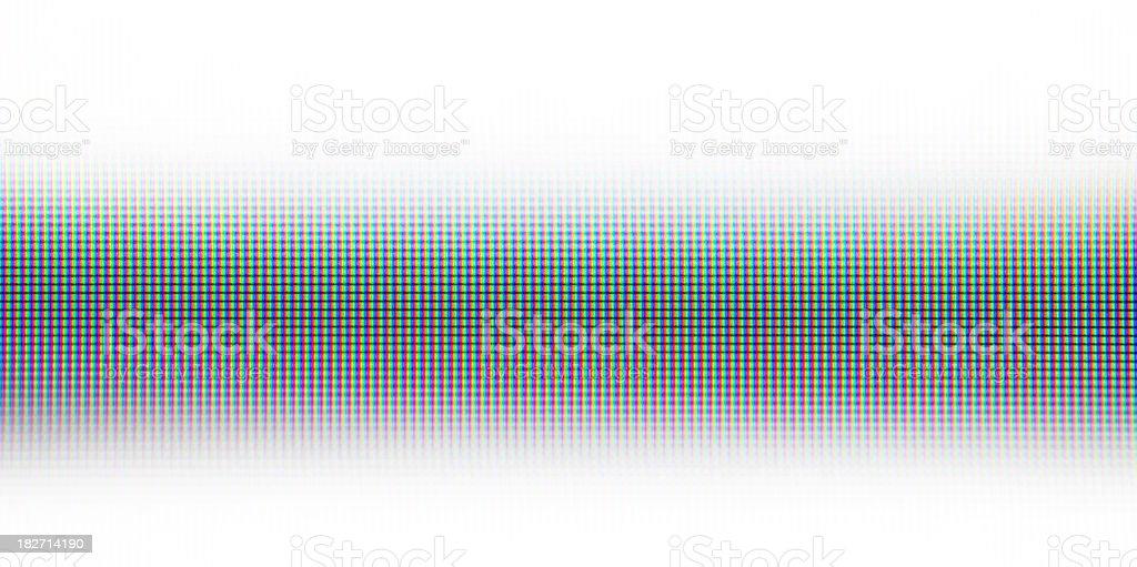 RGB Screen Effect royalty-free stock photo