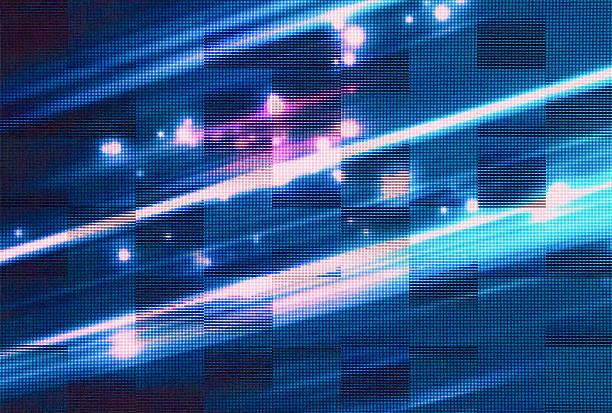 rgb led-bildschirm panel-struktur - große leinwand stock-fotos und bilder