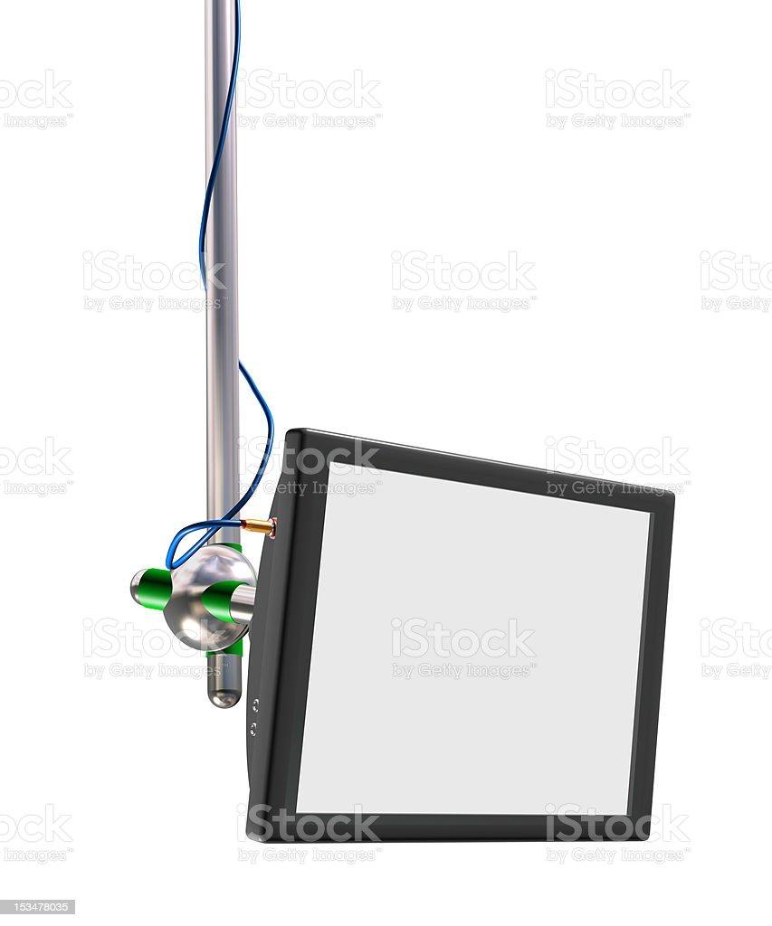 LCD screen royalty-free stock photo