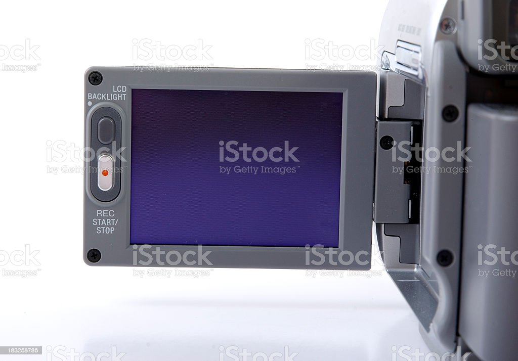 LCD screen royalty-free stock photo