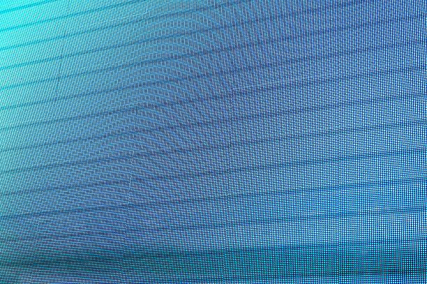 led elektronischen bildschirm - dekoration rund um den fernseher stock-fotos und bilder
