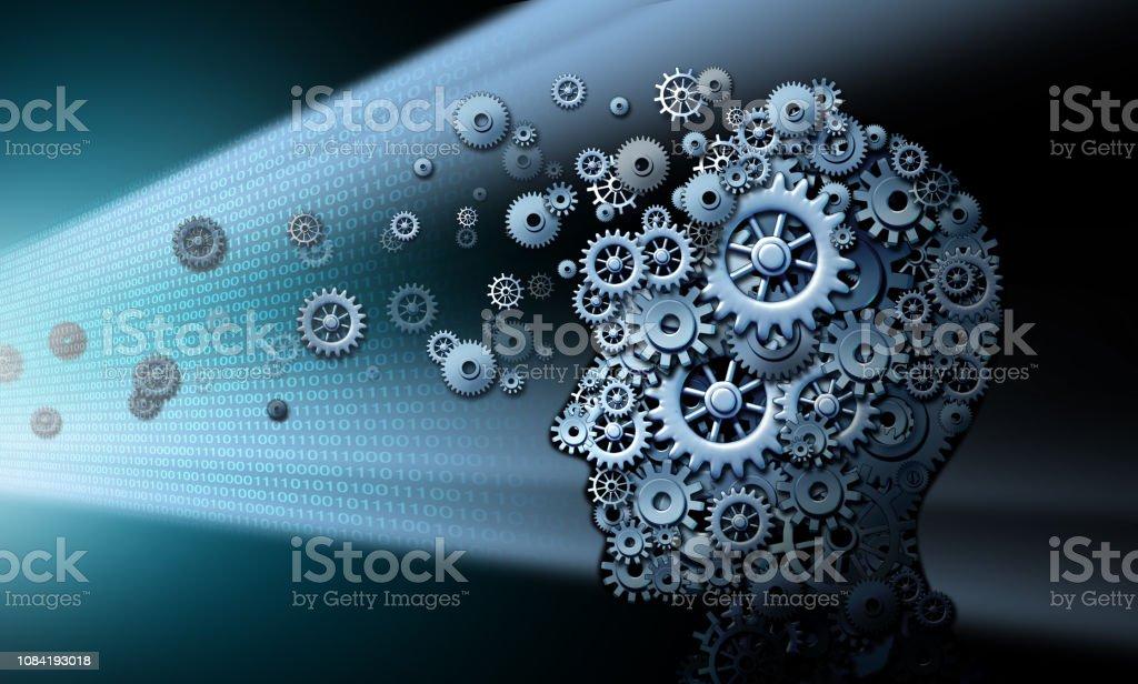 Screen Time Damaging The Brain stock photo