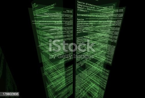 175422126istockphoto Screens with program code 175602835