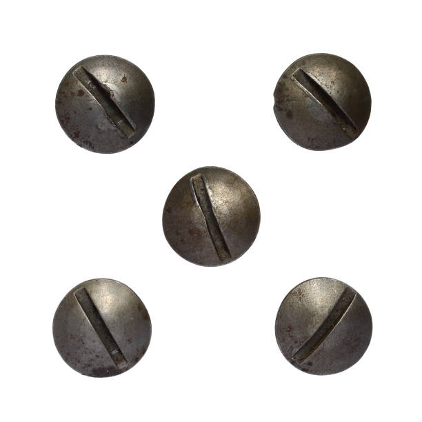 screw heads - head stock pictures, royalty-free photos & images