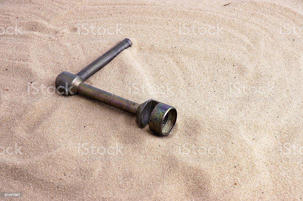 screw key. royalty-free stock photo
