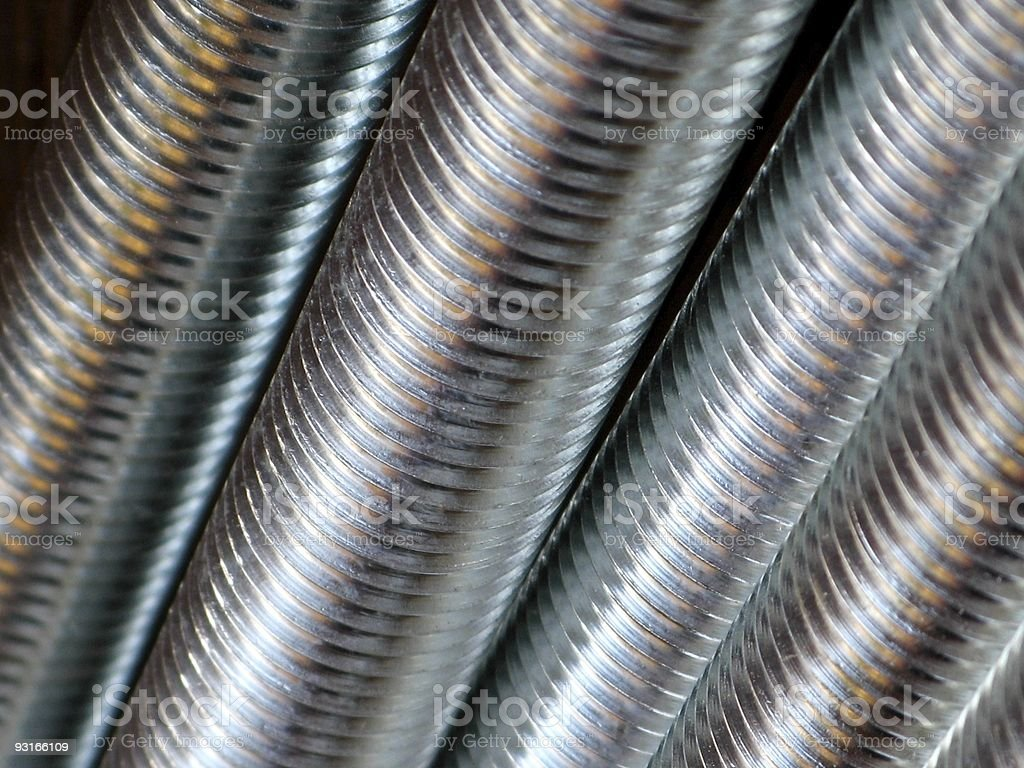 screw thread stock photo