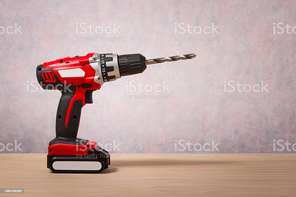 Screwdriver, Cordless Drill stock photo