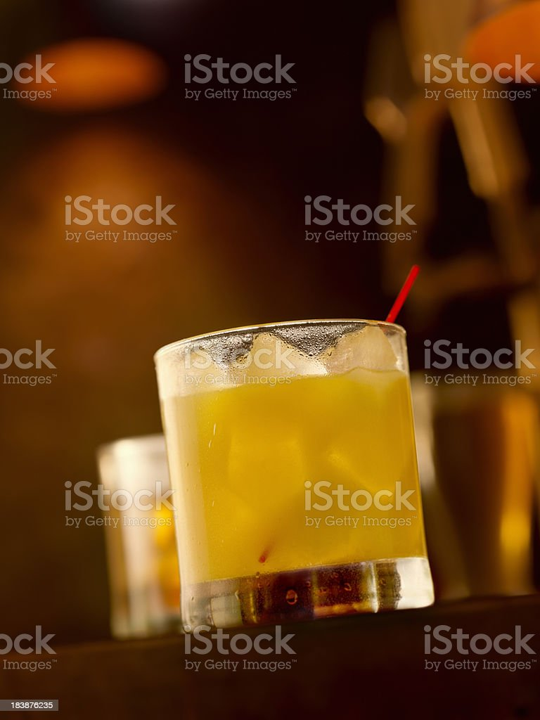 Screwdriver on the Rocks royalty-free stock photo