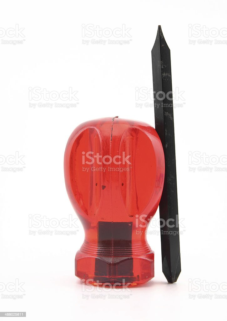 screwdriver royalty-free stock photo