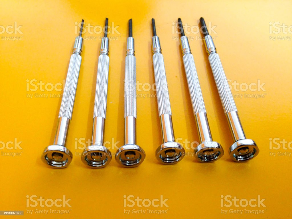 screwdriver royalty free stockfoto