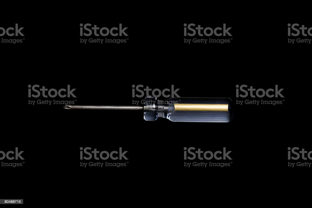 Screwdriver  royalty-free stock photo