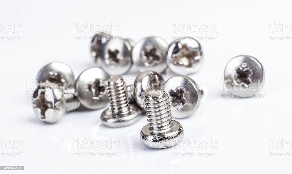 screws close up royalty-free stock photo