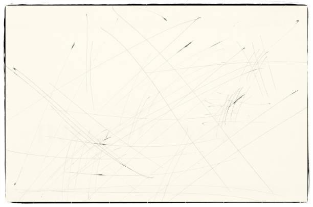 skizzen mit stift auf sepia papier mit grenzen. für textur oder hintergrund. - scribble stock-fotos und bilder