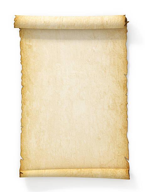 yellowed blättern der alten papier auf weißem hintergrund. - hochmittelalter stock-fotos und bilder