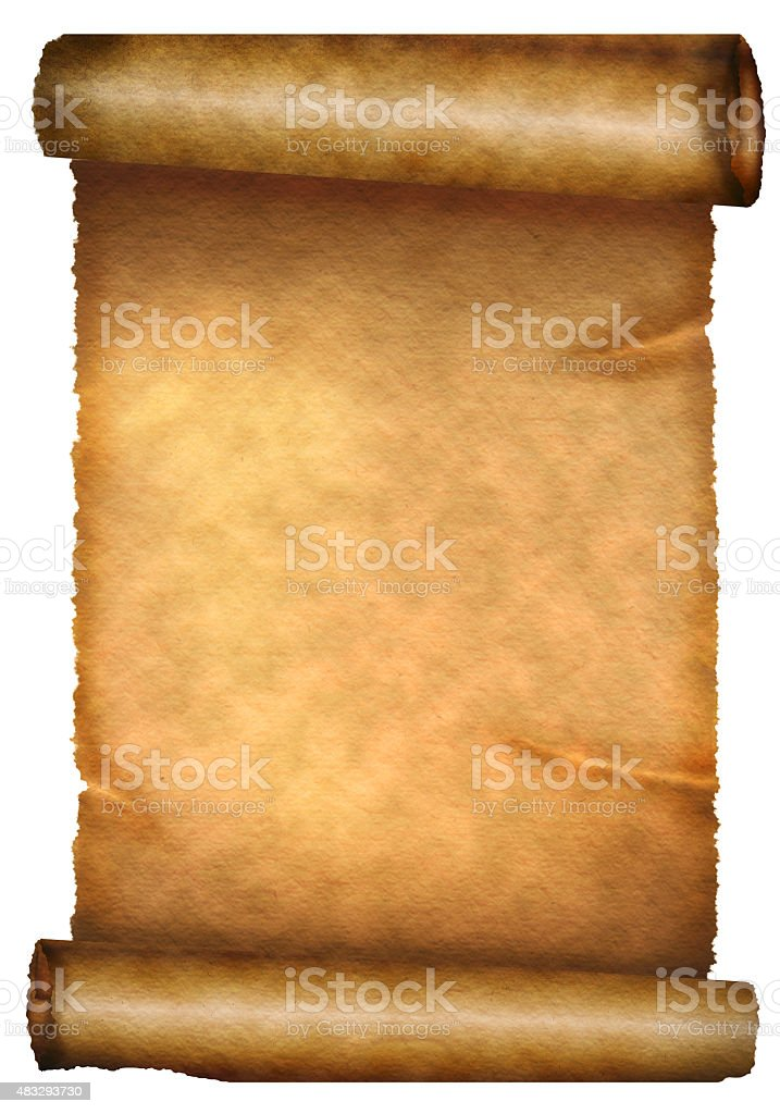 scroll stock photo