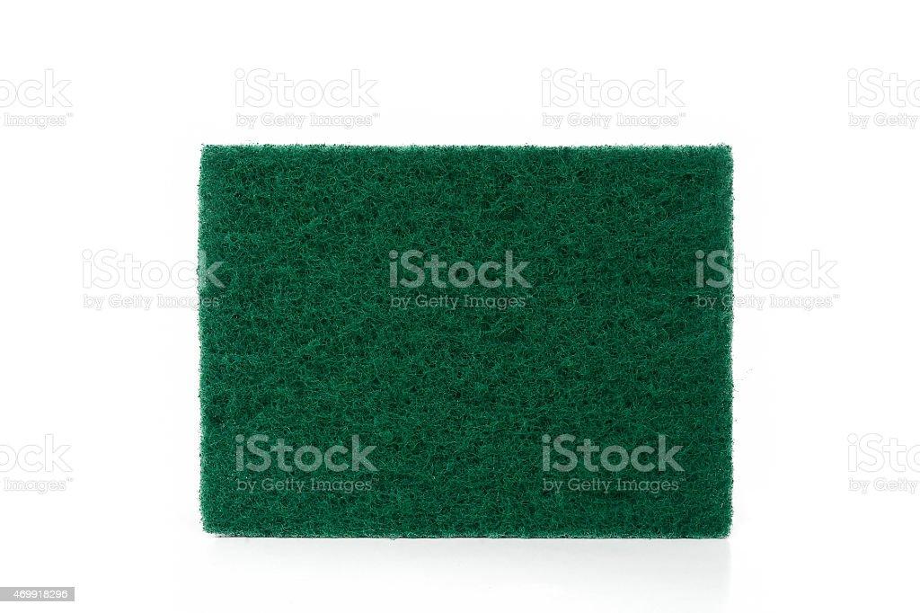 scrubber pad stock photo