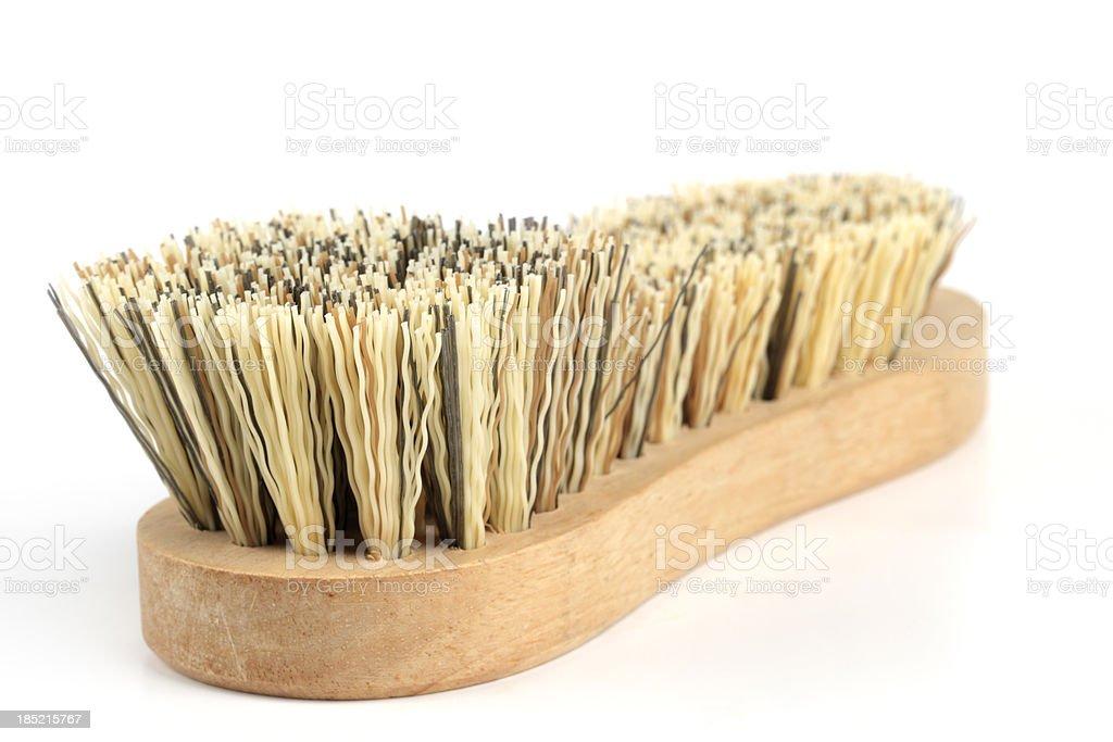 Scrubbing Brush stock photo