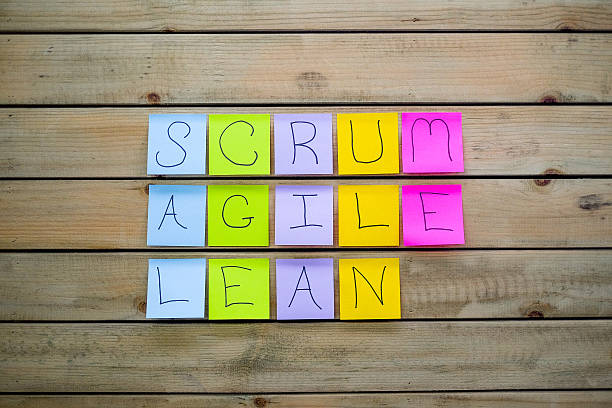 Scrum Agile & Lean Sticky Notes​​​ foto