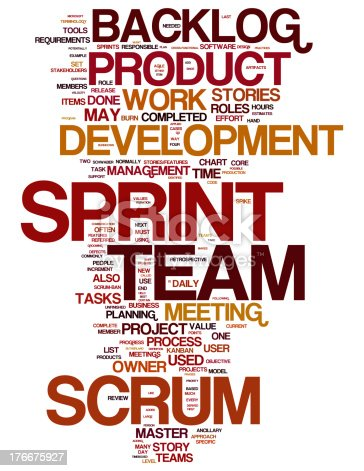 istock Scrum collage concepts 176675927